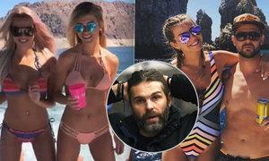 Holky oblékly bikiny, chlapi rozdělali pivka a na lodi nedaleko Las Vegas se rozjel slušný mejdan. Jenže po rozchodu hokejisty Tomáše Tatara s jeho Lucií to Jágr s Veronikou jen tak nezopakují.
