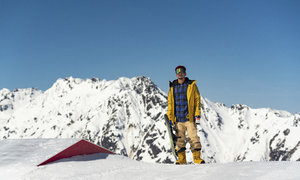 Kde mohl být? Nebýt vážné nehody, mohl Cristovao na snowboardu reprezentovat Česko.