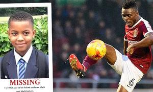 Poplach kvůli synovi známého fotbalisty v Anglii! Kam mohl na den zmizet?