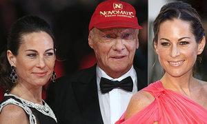 Niki Lauda se svojí andělskou ženou Birgit...