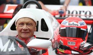 Niki Lauda se svezl ve formuli 1 ještě před dvěma lety.