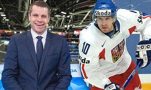 Petr Hubáček skočil z dresu rovnou do saka a stal se hokejovým expertem České televize...