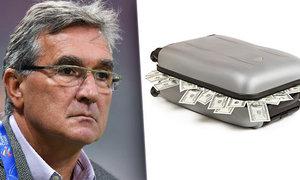 Chorvatský kouč Branko Ivankovič si výplatu z Persepolisu odvezl v kufru