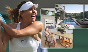 Maria Šarapovová ukázala svůj nový dům v Los Angeles