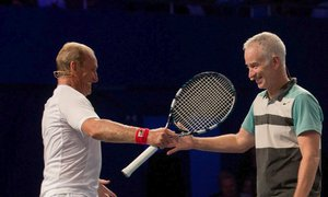 Peter McNamara byl mezi ostatními tenisty uznávano personou. Respekt k němu měl i slavný bouřlivák John McEnroe