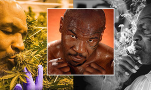 Boxer Mike Tyson je velkým pěstitelem a propagátorem marihuany!