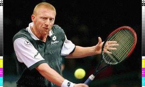 Německý tenista Boris Becker