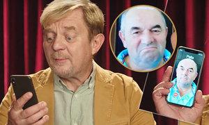 Usměvavý Miroslav Pelta si zahrál v reklamě s Petrem Čtvrtníčkem