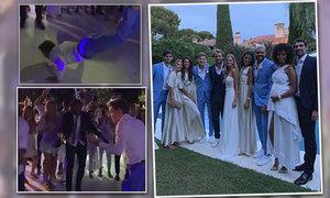 Tenisté se rozparádili na svatbě Lucase Pouilleho