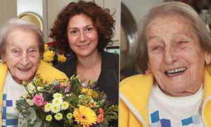Daně Zátopkové k úžasnému jubileu, 97. narozeninám, popřála i její filmová dvojnice Martha Issová