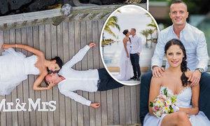 Sprinter Jan Veleba si užil svatbu na exotickém Mauriciu