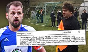 Msta?! Proč exreprezentanta Matějovského vyhodili ze stadionu?