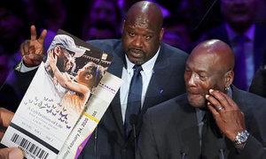 Oslava života Kobeho Bryanta (†41): Proslovy plné bolesti. A potoky slz Jordana!