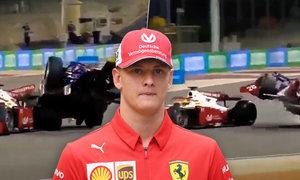 Strach o Schumachera: Nejdřív nové číslo, pak brutální havárie!