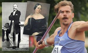 Předek atleta Helceleta měl románek se slavnou spisovatelkou: Obšťastňoval Boženu!