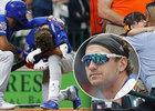 Baseballista Albert Almora si dával za vinu, že poslal malou holčičku do nemocnice...