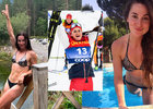Julija Stupaková není jen skvělou lyžařkou, ale i vynikající tanečnicí disko