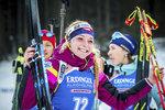 Markéta Davidová si jde pro svou první medaili ze Světového poháru v životě...