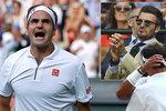Strhující bitva legend! Nadal smekl před Federerem, tleskal i Beckham