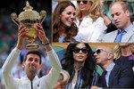 Celebrity při finále: nejbohatší muž s milenkou i statečná zpěvačka