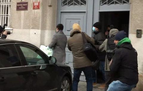 Roman Berbr opouští vazbu ve věznici na Pankráci