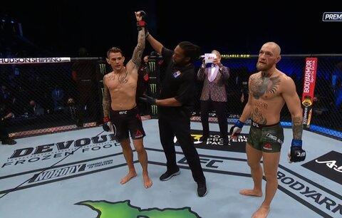 Dustin Poirier porazil Conora McGregora TKO ve 2. kole