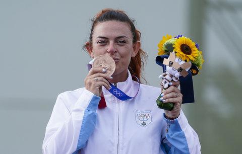 Alessandra Perilliová je první olympijskou medailistkou v historii San Marina