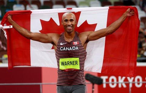 Damian Warner vytvořil nový olympijský rekord