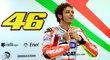 Valentino Rossi na brněnské Grand Prix