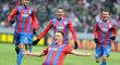 Tecl se raduje z druhé branky zápasu proti Neapol