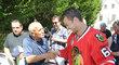 Michaela Frolíka se Stanley Cupem si odchytil i Lubomír Rys, blízký přítel Jaromíra Jágra