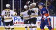 David Krejčí potvrdil výhru Bruins dvěma nahrávkami.