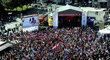 I utkání o bronz mezi Českem a USA sledovalo solidně zaplněné Staroměstské náměstí