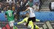 Německý záložník Thomas Müller spálil velkou šanci hned na úvod utkání