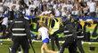 Ostravští chuligáni vtrhli na stadion, zasahovala ochranka