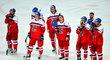 Čeští hokejisté po porážce se Švýcarskem na závěr skupiny B MS v hokeji