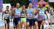 V závodě na 1500 metrů nechyběl ani Jakub Holuša