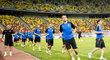 Fotbalisté Plzně se chystají na první zápas v základní skupině Evropské ligy