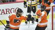Jakub Voráček neodvrátil v pondělním utkání NHL gólem porážku hokejistů Philadelphie 1:4 s Pittsburghem.