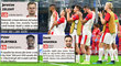 Hned trojice hráčů Slavie si v prvním zápase základní skupiny Ligy mistrů proti Interu Milán vysloužila za svůj výkon plný počet bodů