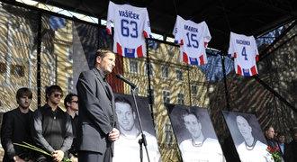 Pozůstalí po hokejistech z Jaroslavle dostanou pojistné 98 milionů rublů