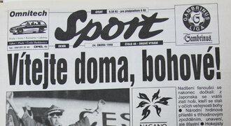 RETRONOVINY: Jak Sport vítal doma naganské šampiony