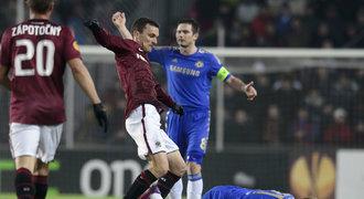ONLINE: Plzeň veze výhru z Neapole, Sparta padla s Chelsea