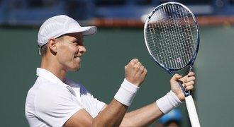 Berdych porazil Andersona a v semifinále ho čeká Nadal