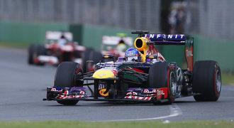 Pátek v Barceloně: Vettel před Alonsem a Webberem