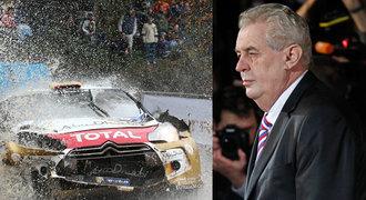 Prezident Zeman se ostře vyjádřil proti rally: Zakázat nebo omezit, říká