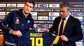 Rabušic se představil Italům: Jsem jako Luca Toni. A říkejte mi Rambo!