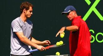 Trenér pro Murrayho? Chci zpět Lendla, říká tenista. Ve hře je i Navrátilová