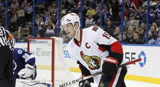 Ottawa ztratila kapitána, nespokojený Spezza se upsal Dallasu