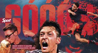 Nový GÓÓÓL: Sedm plakátů, Özil, James, Messi, 16 posil a další pecky
